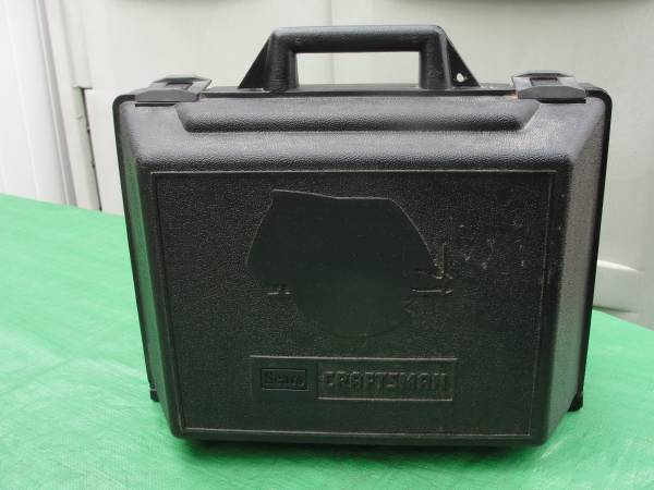 Photo EMPTY Sears Craftsman Circular Saw Hard Plastic Case Black ONLY - $10 (Bristol, Pa)