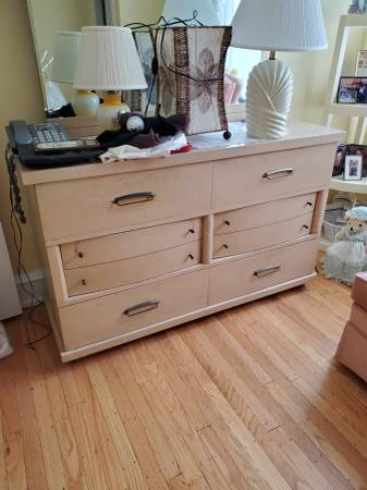 Photo Estate sale...vintage MCM furniture, collectibles and costume jewelry (Havertown)