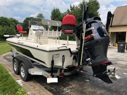 Photo Fishing Seats 2015 Skeeter 220sx 250 SHO VMax 4 stroke Yamaha Motor - $23000 (runs good)