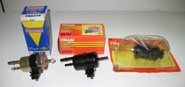 Photo Gas Filter (Camry, Ranger) - $8 (Lederach)