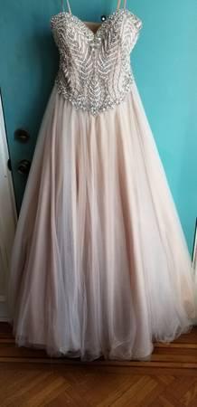 Photo Glamorous Wedding Gown by Terani Couture - $70 (Philadelphia)