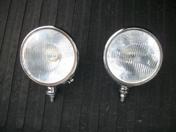 Photo HEADLIGHTS, 7quot STAINLESS STEEL. 33-34 FORD - $75 (MONTCO, PA)