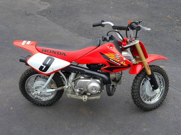 Photo Honda XR50  CRF50 Kids Dirt Bike - $1,400 (Telford)