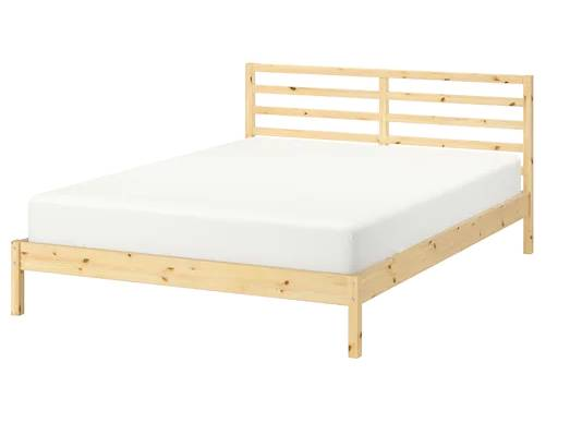 Photo Ikea full-size bed w mattress - $80 (NW Phila)