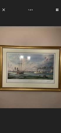 Photo John Stobart - Detroit A View of the City - $499 (Newtown Square)