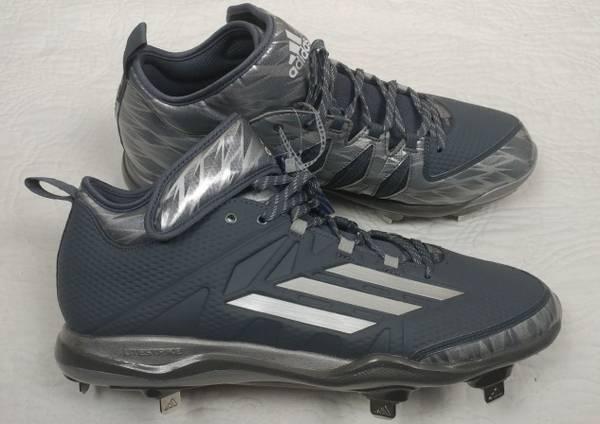 Photo Men39s New Adidas Metal Baseball Cleats Size 10 - $17 (NEW BRITAIN)