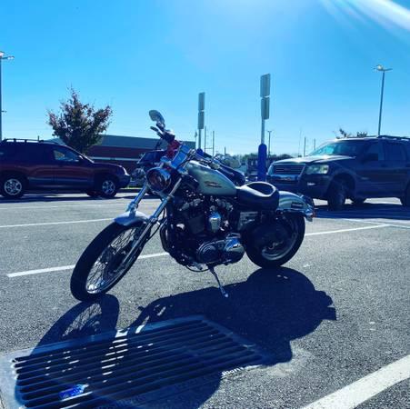 Photo NEED GONE ASAP Harley Davison sportster 1200 xl custom - $4,000 (Philadelphia)