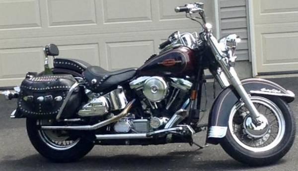 Photo PRICE DROP 1996 Harley FLSTC Softail Evo 1340 5 speed - $4,000 (Lansdale)