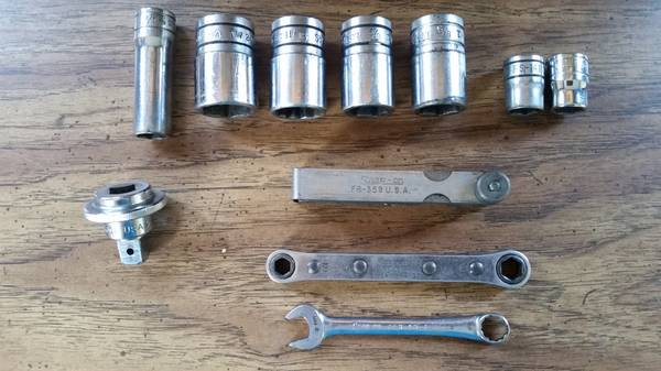 Photo SNAP-ON SOCKETS, RATCHES, WRENCH, SPINNER, GAUGE SET (West Chester)