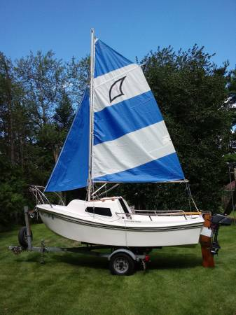 Photo Sailboat- West Wight Potter 15 - $4500 (West Chester)