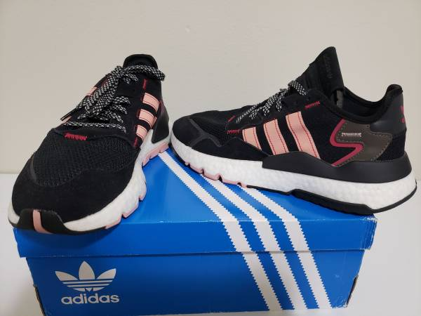 Photo Womens Sz 9.5 Adidas Nite Jogger Running Sneakers New - $70 (Philadelphia)