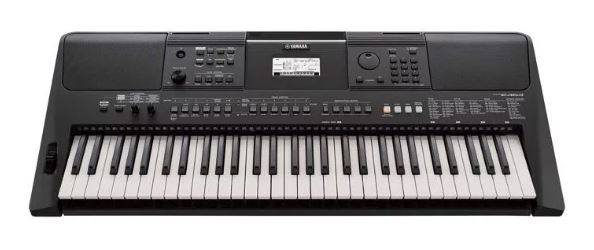 Photo Yamaha PSR-E463 Synthesizer, Yamaha Survival Kit, Stereo Cables - $239 (Center City Philadelphia)