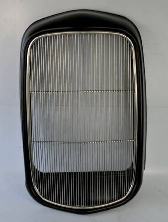 Photo hot rod 1932 Ford Steel Front Grille ShellStainless insert - $269 (Chelsea)