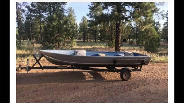 Photo 14 ft aluminum boat - $1150 (Queen creek)