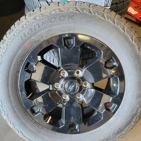 Photo 18quot Ford Ranger Black Rims And Tires 2656018 - $700 (phoenix)
