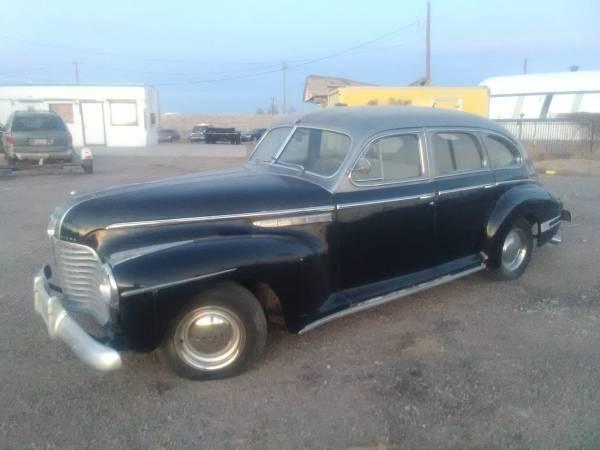 Photo 1941 Buick special 4 Dr fastback - $8,500 (Casa grande)