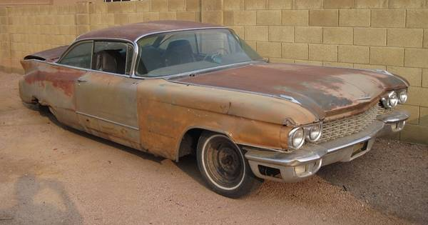 Photo 1960 Cadillac for parts - $20 (Mesa)