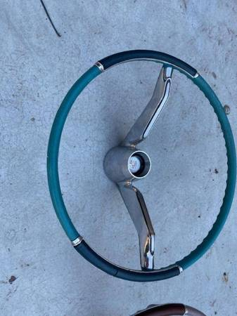 Photo 1960 Cadillac steering wheel - $150 (Mesa)