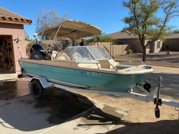 Photo 1970 soonercraft open bow boat with 2008 50hp mercury outboard - $2,200 (i10perryville)