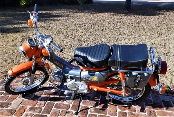 Photo 1973 Honda Trail 90 with 407-Original Miles - $5,495 (Phoenix)