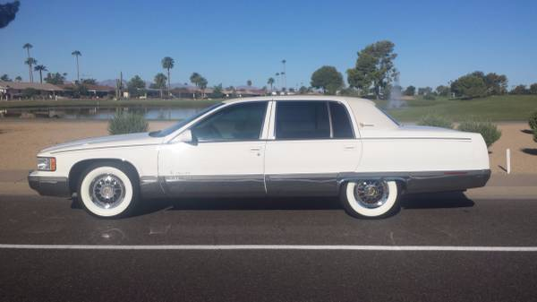 1995 cadillac fleetwood brougham arizona edition exceptional 12500 sun city cars trucks for sale phoenix az shoppok 1995 cadillac fleetwood brougham