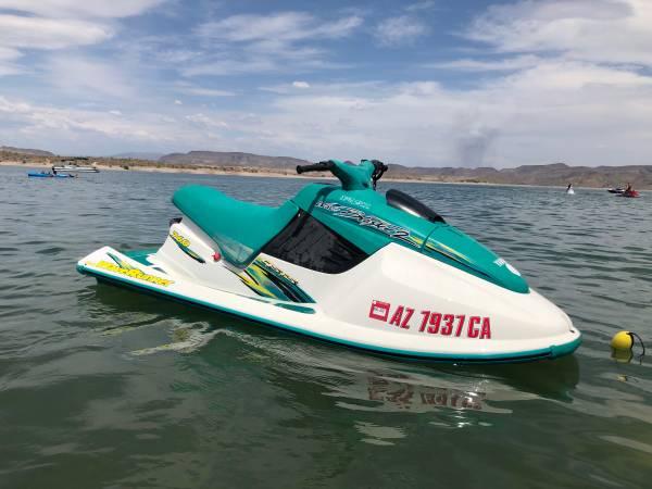 Photo 1997 Yamaha Wave Blaster 2 760 Wave Runner Jet Ski - $1700 (Peoria)