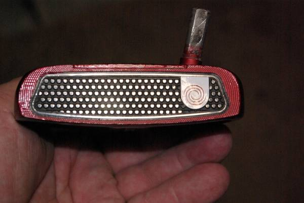 Photo 1-MINT- Odyssey O39Works Red 2-Ball putter R.H. - $165 (10621 West Riviera Dr. Sun City)