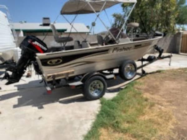 Photo 2002 Fisher bass boat - $5,700 (Phoenix)