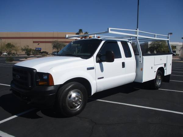 Photo 2006 Ford F350 Super Cab Service Body Utility Bed Work Truck Diesel - $20995 (Phoenix)