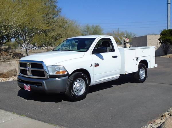 Photo 2010 DODGE 2500 CUMMINS DIESEL SERVICE BODY UTILITY BED WORK TRUCK - $16995 (Phoenix)