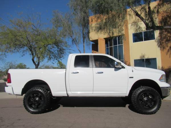 Photo 2012 Dodge Ram 1500 Quadcab Lifted 4x4 5.7L Hemi 95k miles - $18888 (Phoenix)