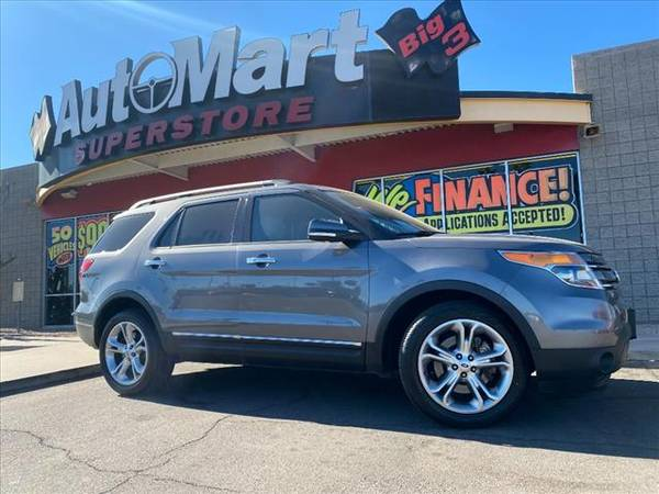 Photo 2013 Ford Explorer Limited 290HP 3.5L V6 Leather Sweet - Hot Deal - $15,695 (Interest Rates Starting at 2.24)
