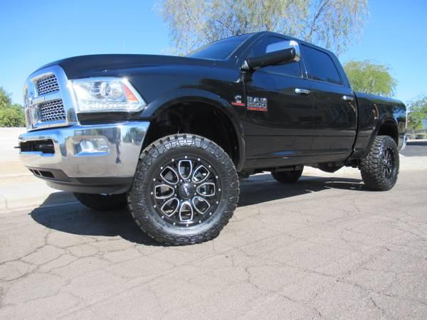 Photo 2014 Dodge Ram 2500 Laramie Cummins Diesel 4X4 Leveled - $35888 (22414 n 19th ave)