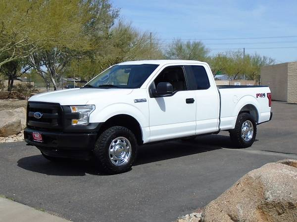 Photo 2017 FORD F150 EXTENDED CAB 4X4 WORK TRUCK - $13995 (Phoenix FREE SHIPPING ANYWHERE IN ARIZONA)