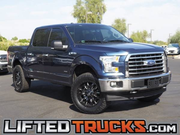Photo 2017 Ford f-150 f150 f 150 XLT 4WD SUPERCREW 5.5FT 4x4 - Lifted Trucks - $35,861 (10039s of Trucks in Stock in AZ)