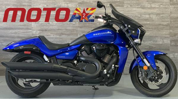 Photo 2017 Suzuki Boulevard M109R Boss Blue One Owner Must See - $11500 (8743 E Pecos RD 126)