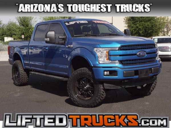 Photo 2019 Ford f-150 f150 f 150 LARIAT 4WD SUPERCREW 6.5 4x4 Passenger - $38974 (10039s of Trucks in Stock in AZ)