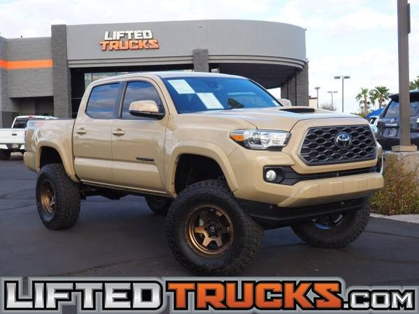 Photo 2020 Toyota Tacoma TRD OFF ROAD DOUBLE CAB 5 4x4 Passe - Lifted Trucks - $37,782 (10039s of Trucks in Stock in AZ)