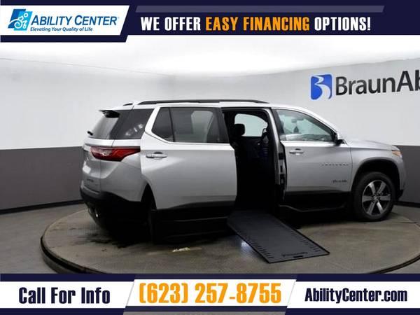 Photo 2021 Chevrolet Traverse $817mo Wheelchair Van Handicap Van - $80,745 (13765 W Auto Drive Suite 125, Goodyear, AZ 85338)