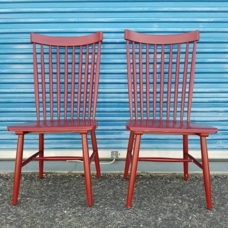 Photo 2 Dining Chairs - Pier 1 Imports - $100 (N Phoenix)