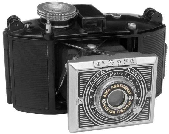 Photo AGFA KARAT ART DECO COLLECTIBLE FILM CAMERA - $75 (Phoenix)