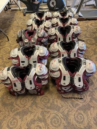 Photo ASU Football Shoulder Pads (Mesa)