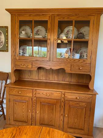 Photo Amish Oak Dining Room - $2,000 (Sun City West)