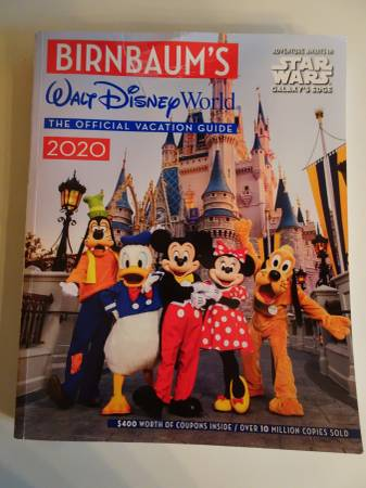 Photo Birnbaum39s Disney World Guidebook 2020...New Lower Price - $6 (Peoria)