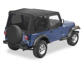 Photo Black Denim Replacement Top, Fits 87-95 Jeep Wrangler YJ - $300 (NE Phoenix)