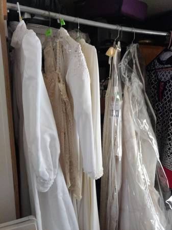 Photo Brand new WEDDING DRESSES various sizes, ALL NEW  CHEAPLY PRICED - $50 (I-17  UNION HILLS)