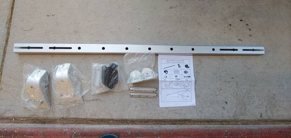 Photo Brand new old school light rack bar mount - $60 (Buckeye)