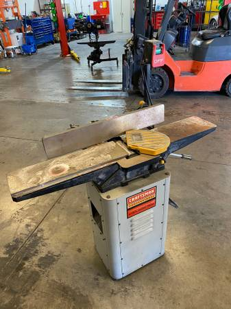 Photo Craftsman Professional 1.5HP Jointer Planer 6-18 - $300