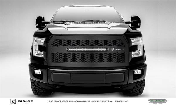 Photo Custom black grill with integrated LED Light for 2015-17 Ford F150 - $300 (Greenway Rd and 43rd Ave)