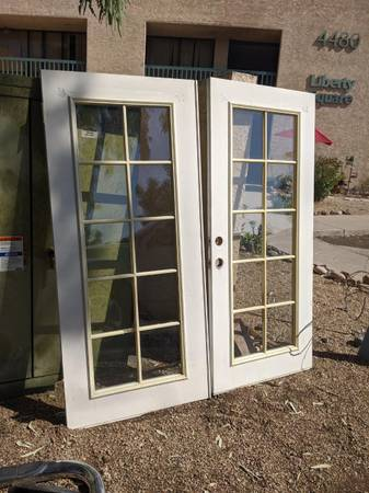 Photo Double French Doors - $150 (Peoria and 43rd ave)